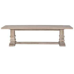 Cleo Wooden Large Wood Dining Bench by Gr..