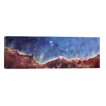 Brayden Studio Panorama View Of The Center Of The Milky Way Photograph On Wrapped Canvas Wayfair Co Uk