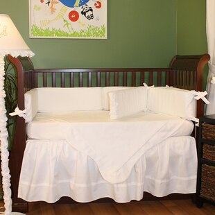 Compare prices Pique 4 Piece Crib Bedding Set ByHoohobbers