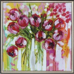 Razzle Dazzle Tulips Framed Print