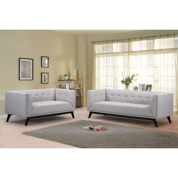 Noble House Ontario 2 Piece Living Room Set