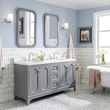 Kylan 60 Double Bathroom Vanity Set by Alcott Hill®