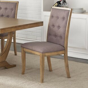 Desbois Upholstered Dining Chair (Set of 2) One Allium Way