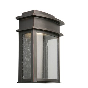 Online Reviews Sontag 1-Light Outdoor Bulkhead Light By Brayden Studio