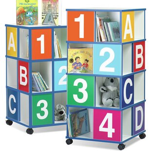 Shopping for 4-Tier ABC/123 40 Book Cart by The Children's Furniture Co. Reviews (2019) & Buyer's Guide