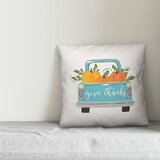 Soule Give Thanks Harvest Truck Throw Pillow