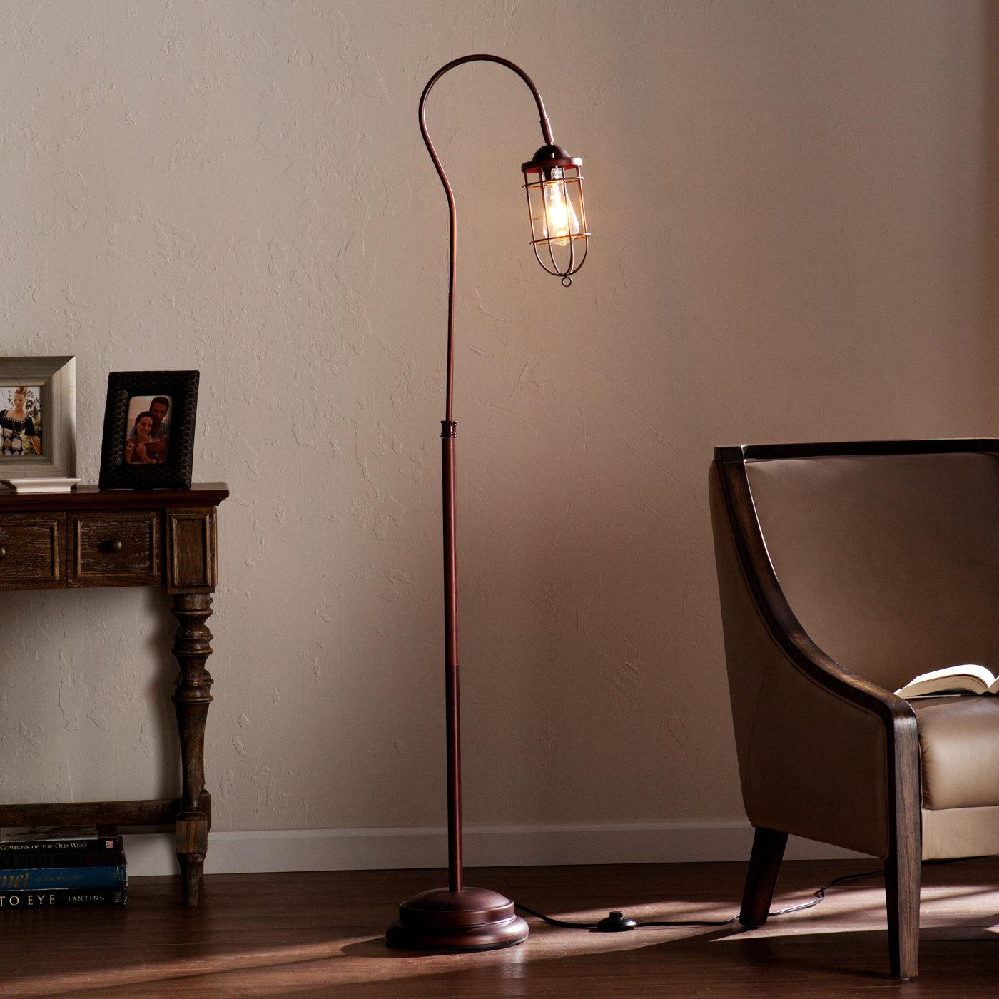Gerze 62 Arched Floor Lamp