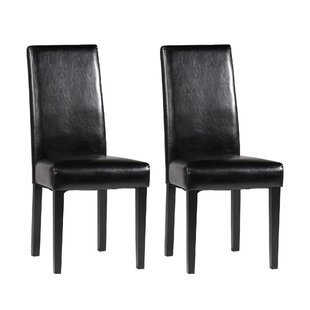 Chintaly Imports Parsons Chair (Set of 2)