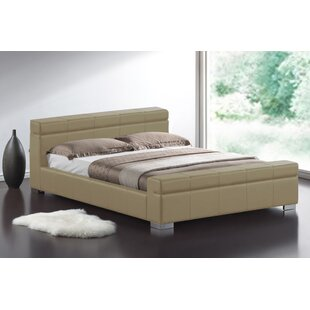 Ebern Designs Leather Beds