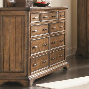 Find the perfect Ingalls Wooden 9 Drawer Dresser by Loon Peak
