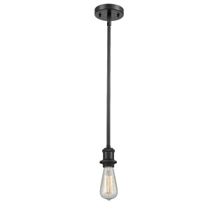 Williston Forge Pilton 1-Light Bulb Pendant