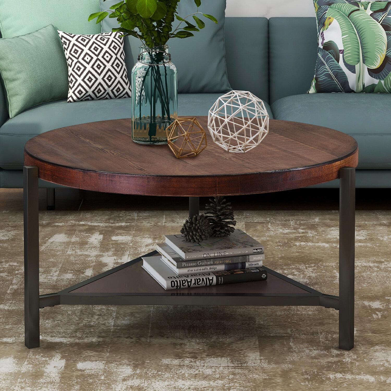 3 Legs Brown Coffee Tables You Ll Love In 2021 Wayfair