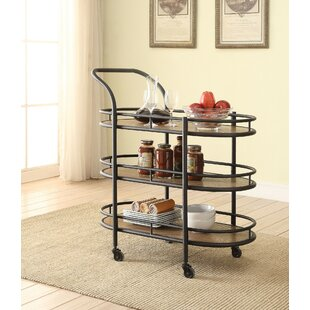Olszewski Serving Bar Cart by Williston Forge