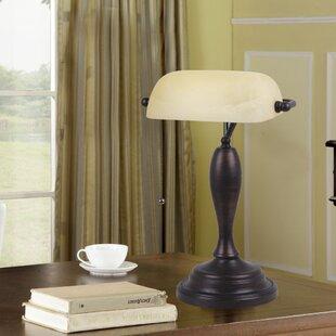 Bankers lamp replacement shade wayfair gillam 1775 bankers lamp aloadofball Images