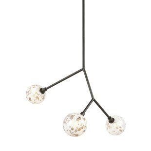 Brayden Studio Usher 3-Light Pendant