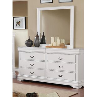Charlton Home Hinrichs 6 Drawer Double Dress..