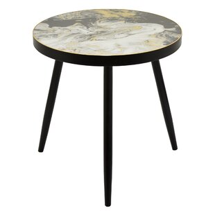 Steelville Wood Decorative End Table