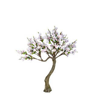 258cm Artificial Flowering Tree By AlexandraHouse