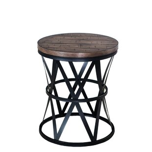 Brockman Barrel End Table
