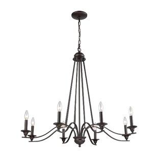 Gracie Oaks Medina 8-Light Candle Style C..