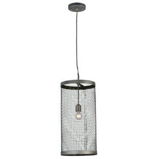 Meyda Tiffany Cilindro Cage 1-Light Cylinder Pendant