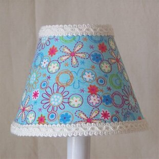 Crazy Daisy 11 Fabric Empire Lamp Shade