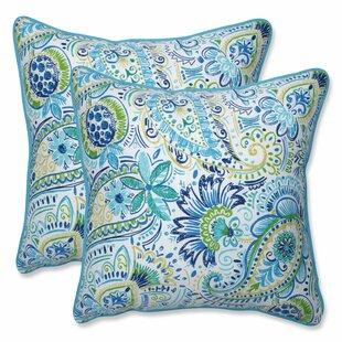 Green Paisley Throw Pillows You Ll Love In 2021 Wayfair