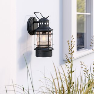 Beachcrest Home St. Lucia 1-Light Outdoor Wall Lantern