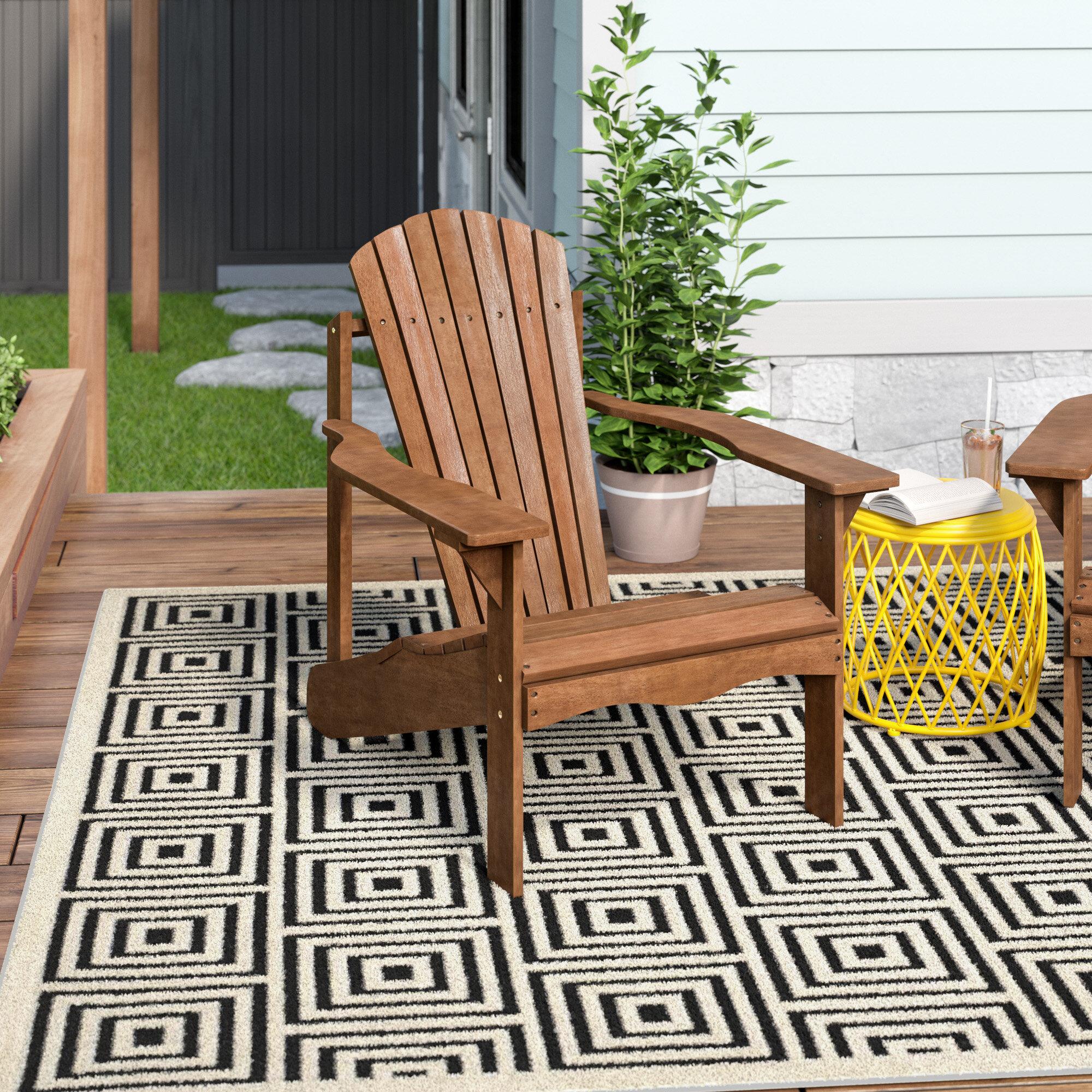 64d8f1c4a816d4 Langley Street Arianna Solid Wood Adirondack Chair   Reviews   Wayfair