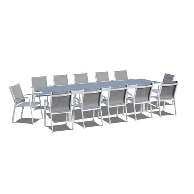 Extendable 13 Piece Dining Set by Brayden Studio Comparison