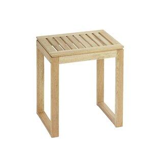 Badezimmerhocker Norway aus Holz von Wenko