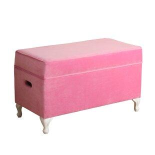 Save  sc 1 st  Wayfair & Blush Pink Storage Bench | Wayfair