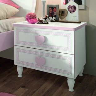 Rosenberger 2 Drawer Nightstand