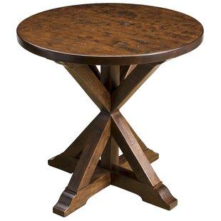 Plaza Round End Table by MacKenzie-Dow