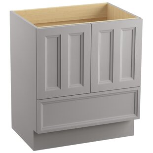 Damask? 30 Vanity with Toe Kick, 2 Doors and 1 Drawer by Kohler