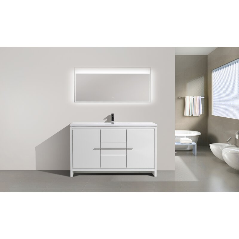 Orren Ellis Lefebvre 59 Single Bathroom Vanity Set Wayfair