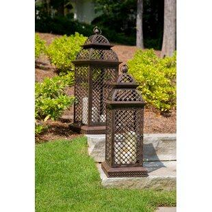 Orleans Steel Lantern by Peak Season Inc.