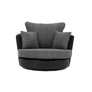 Ragusa Swivel Tub Chair By Brayden Studio