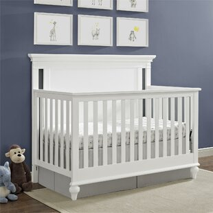Allenvale 4-in-1 Convertible Crib & Crib Crown Canopy | Wayfair