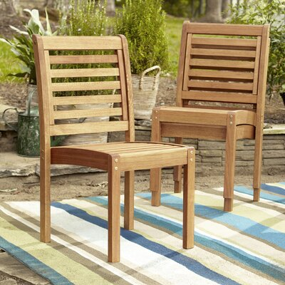 Pleasing Birch Lane Heritage Callaway Patio Dining Chair Beatyapartments Chair Design Images Beatyapartmentscom