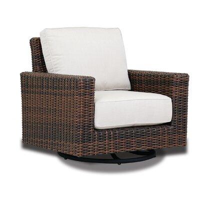 Montecito Swivel Rocker Patio Chair With Sunbrella Cushions