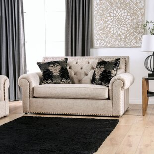 Roseau Rolled Arms Loveseat