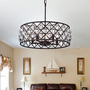 office chandelier lighting. wonderful chandelier 5light drum chandelier for office lighting