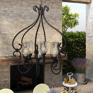 Fleur De Lis Living Bilmar 6-Light Outdoor Chandelier