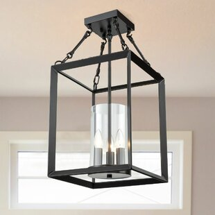 Nowakowski 3-Light Lantern Chandelier by Canora Grey