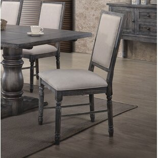 Shop For Ahrens Side Upholstered Dining Chair (Set of 2) by One Allium Way Reviews (2019) & Buyer's Guide
