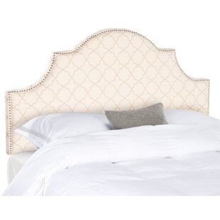 Caswell Upholstered Panel Headboard by Alcott Hill