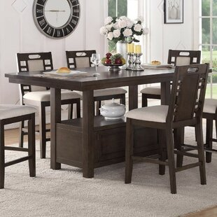 Servis Counter Height Dining Table Red Barrel Studio