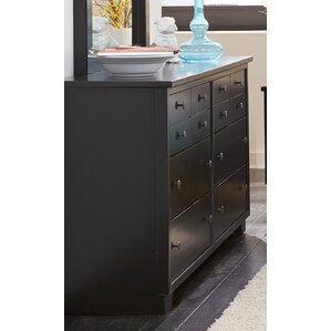Loughran 12 Drawers Standard Dresser by Andover Mills