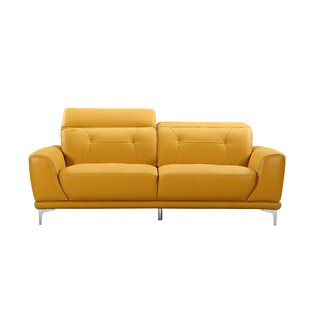Bellefontaine Leather Sofa